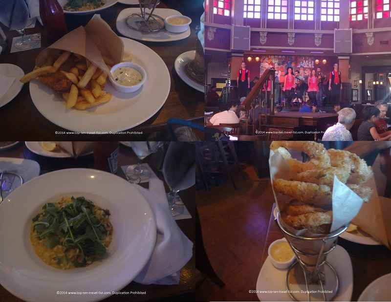 Allergy friendly options at Raglan Road - Downtown Disney