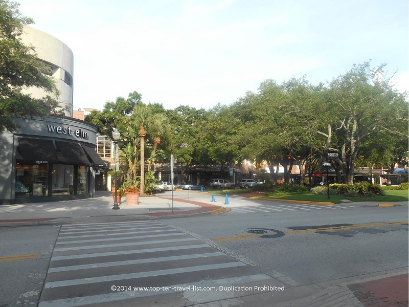 Hyde Park Village in Tampa, Florida