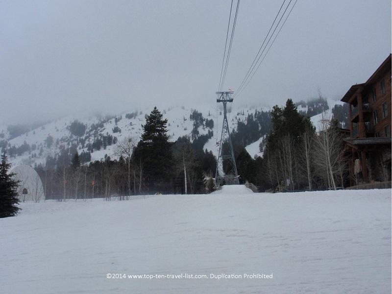 Jackson Hole Mountain Resort in Jackson Wyoming