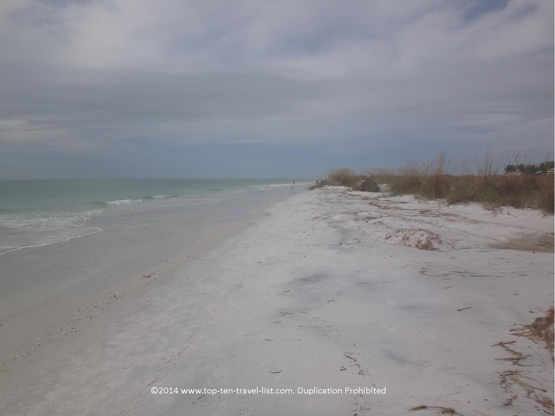 Gorgeous views at Anna Maria Island beach in Florida