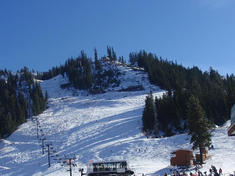 Skiing at Squaw Valley in Lake Tahoe