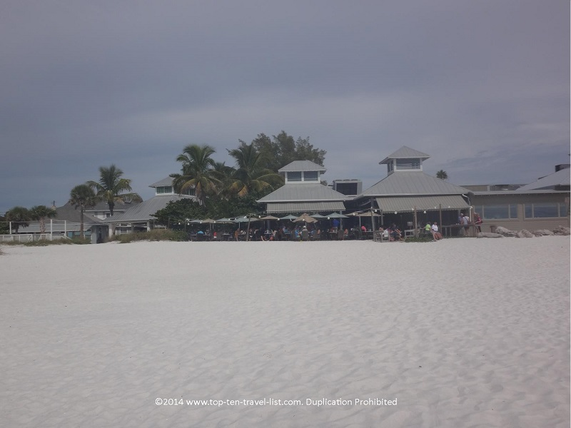 The Sandbar restaurant in Anna Maria Island, Florida