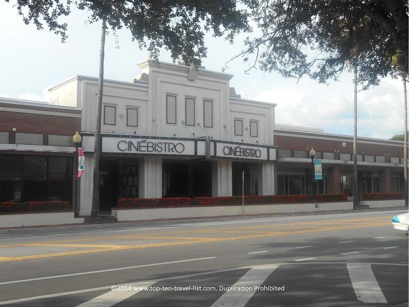Cinebistro at Hyde Park Village in Tampa, Florida
