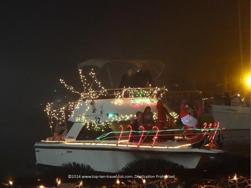 Dunedin, Florida holiday boat parade 2014