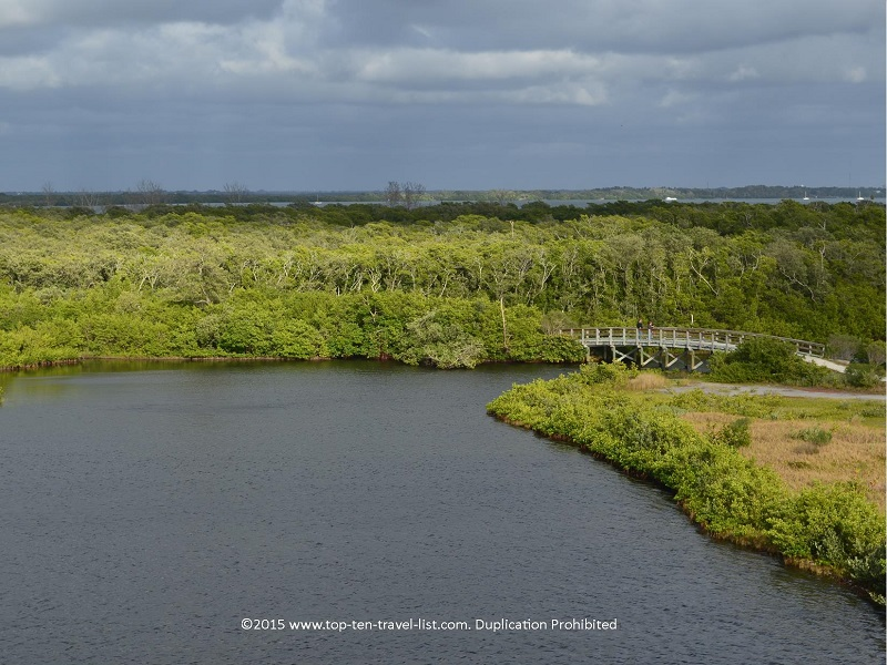 Beautiful panoramic views of the preserve
