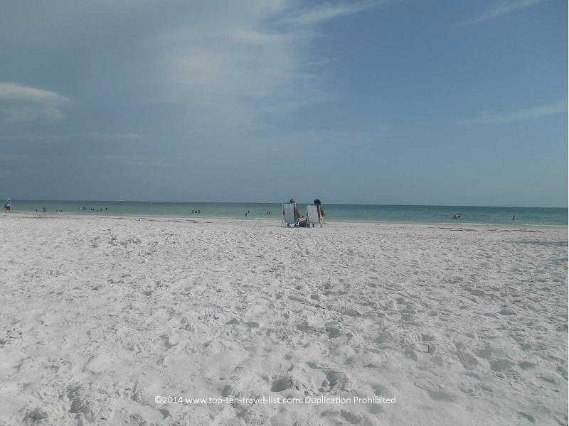 White sands at Siesta Key Beach in Sarasota, Florida