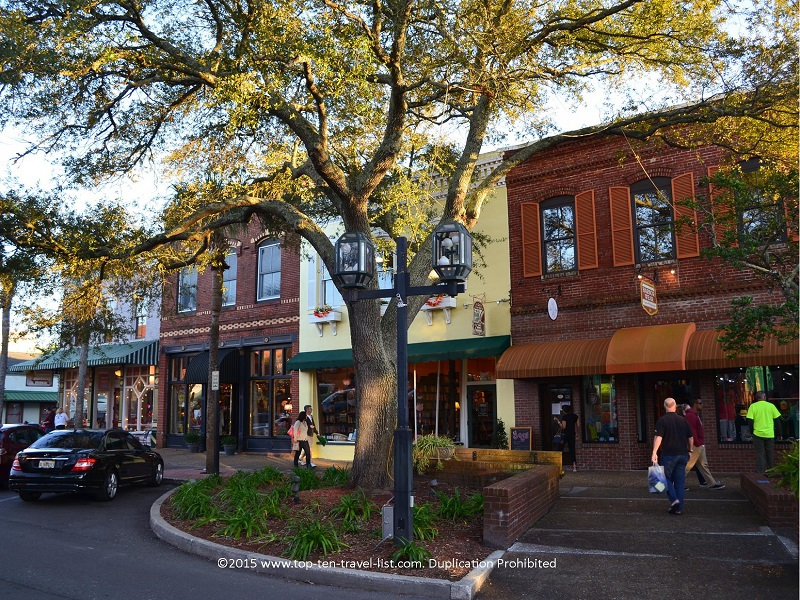 Historic downtown Fernandina Beach is a charming area to take a stroll around.