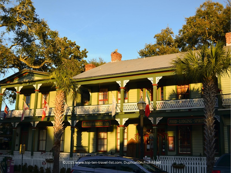 The Florida House Inn, built in 1857, is the oldest inn found in Florida.