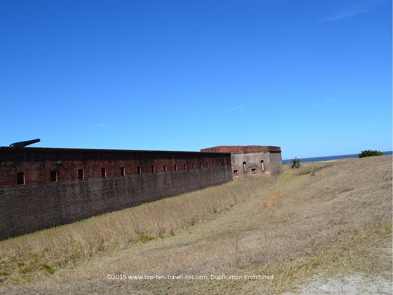 Fort Clinch in Fernandina Beach, Florida