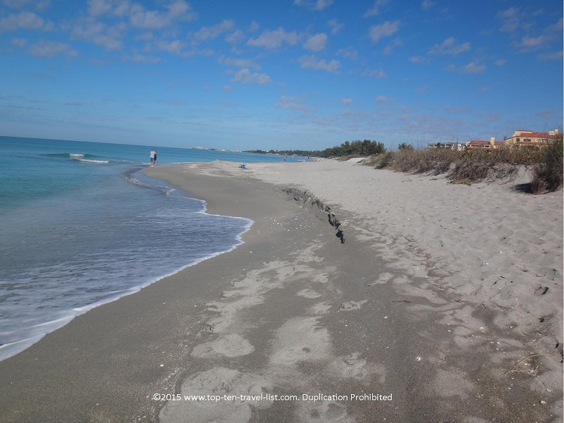 The most beautiful beach in Sarasota - secluded with natural surroundings.