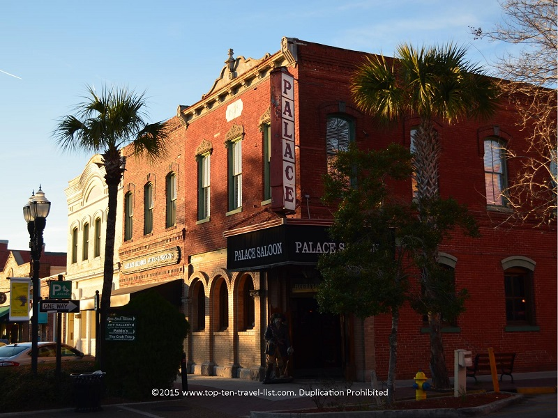 The Palace Saloon is the oldest drinking establishment in Florida.