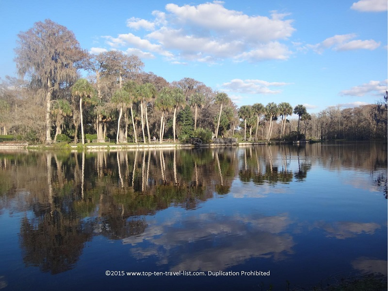 Beautiful scenery at Silver Springs State Park in Ocala, Florida