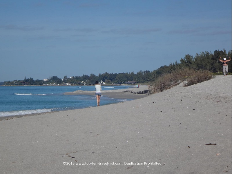 One of the most picturesque Gulf Coast beaches for a stroll...