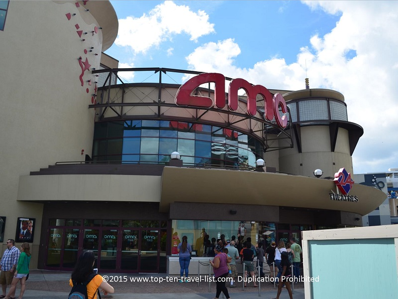 AMC Theaters at Downtown Disney in Orlando, Florida