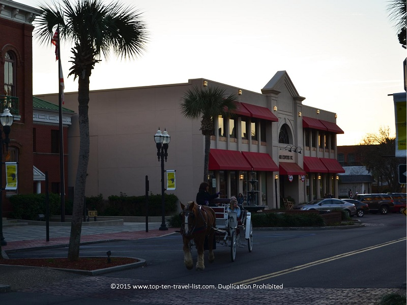 A narrated carriage ride through the charming streets of downtown Fernandina Beach.