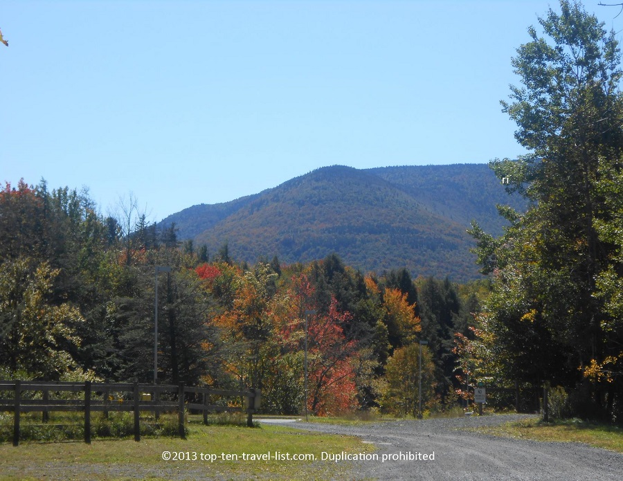 The Catskills region is gorgeous during the fall season.