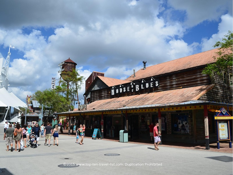 House of Blues at Downtown Disney in Orlando, Florida