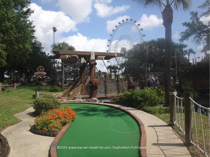 Pirate's Cove Mini Golf in Orlando, Florida