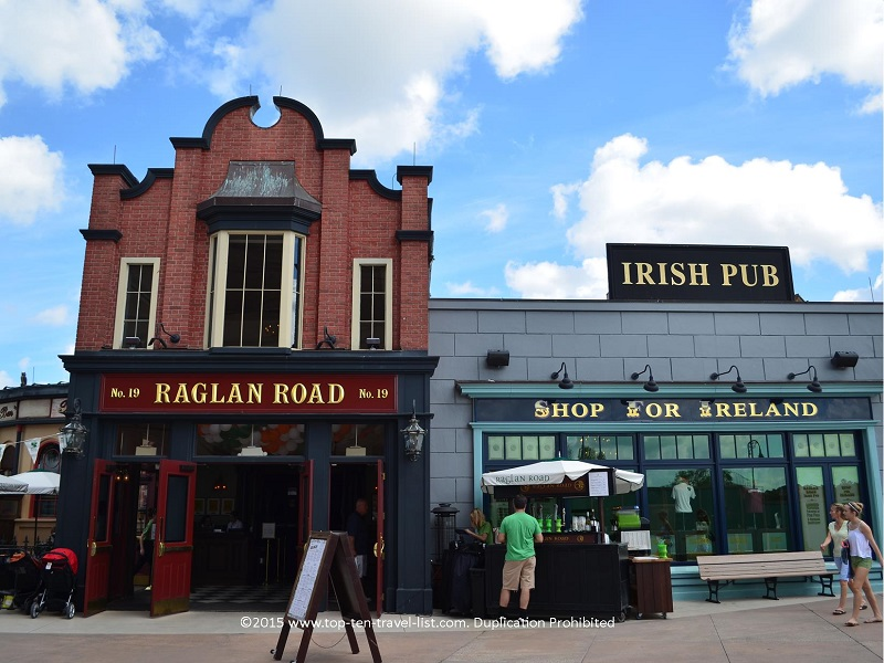 Raglan Road Irish Pub at Downtown Disney in Orlando, Florida