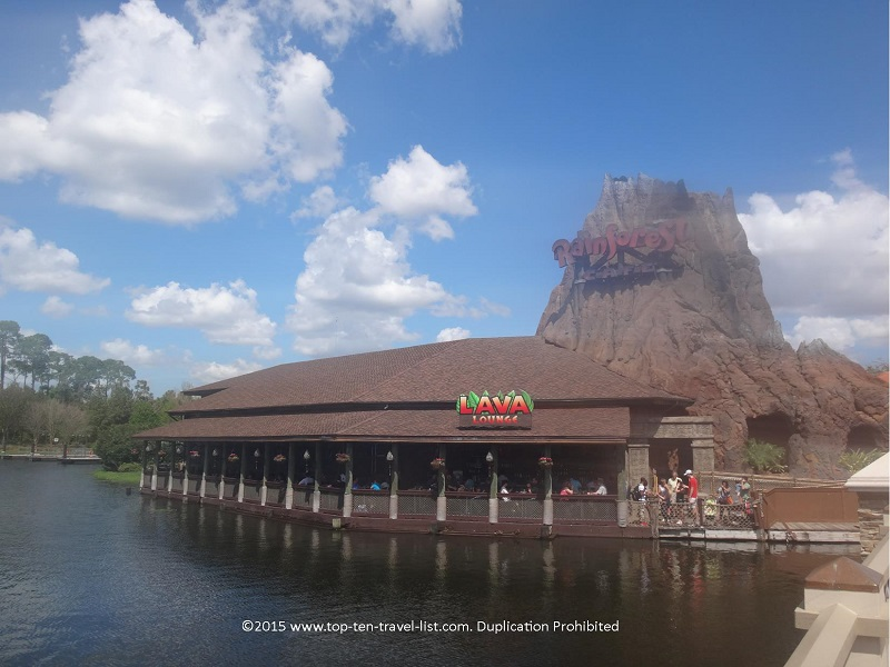 Rainforest Cafe at Downtown Disney in Orlando, Florida