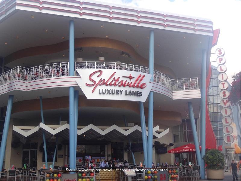 Splitsville Luxury Lanes in Orlando Florida
