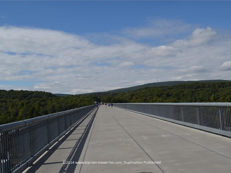 Walkway Over the Hudson in Upstate New York