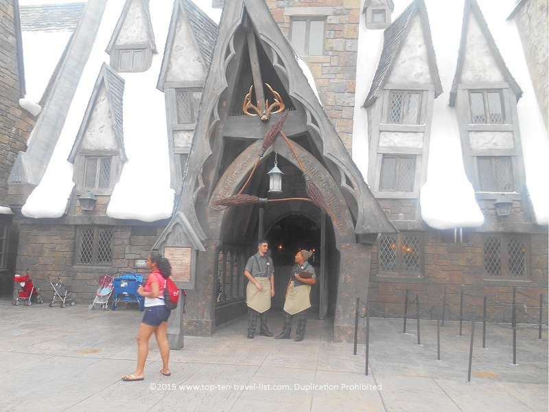 Three Broomsticks at Hogsmeade - The Wizarding World of Harry Potter at Islands of Adventure at Universal Orlando