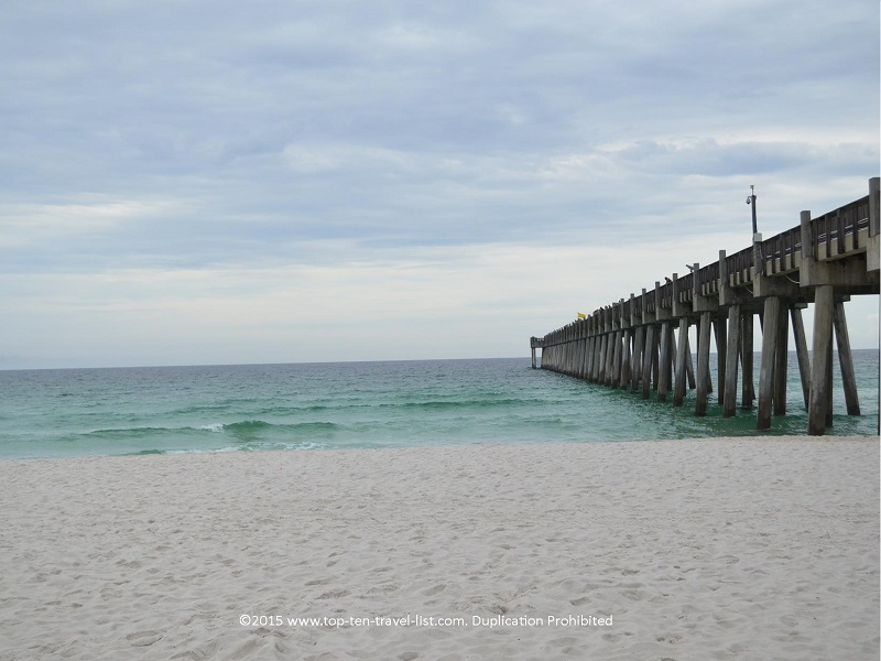The pier at Pensacola Beach - Florida's Emerald Coast