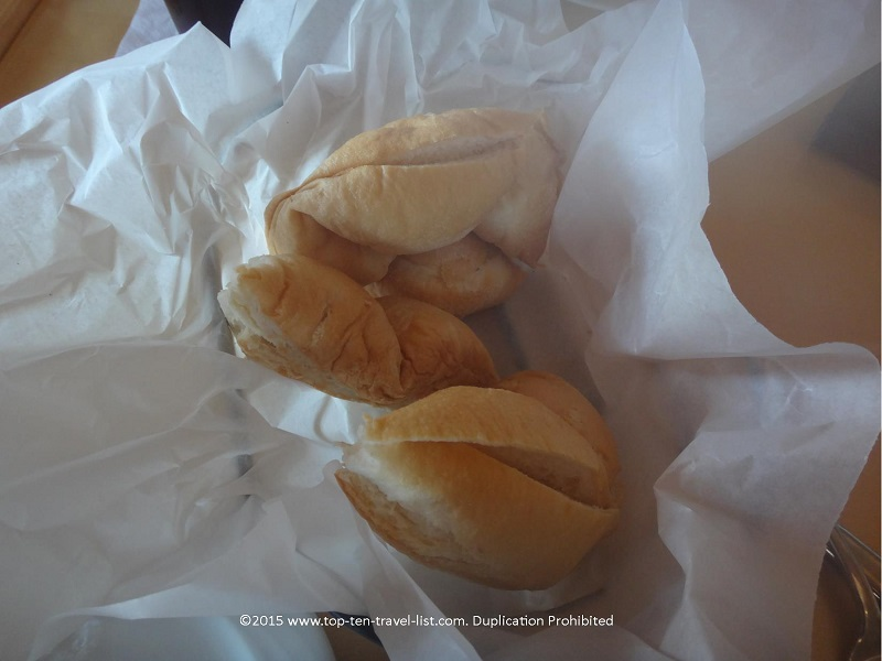 It's always a plus when a restaurant carries delicious GF rolls! Combined with olive oil for dipping - absolutely perfect!