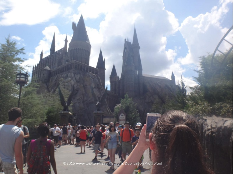 Hogwarts Castle - Harry Potter and the Forbidden Journey - The Wizarding World of Harry Potter at Islands of Adventure