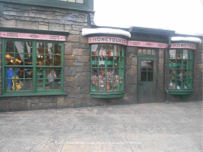 Honeydukes at Hogsmeade - The Wizarding World of Harry Potter at Islands of Adventure in Orlando, Florida