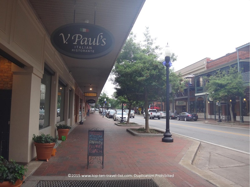 V Paul's Italian Ristorante in downtown Pensacola is a must try on your visit!