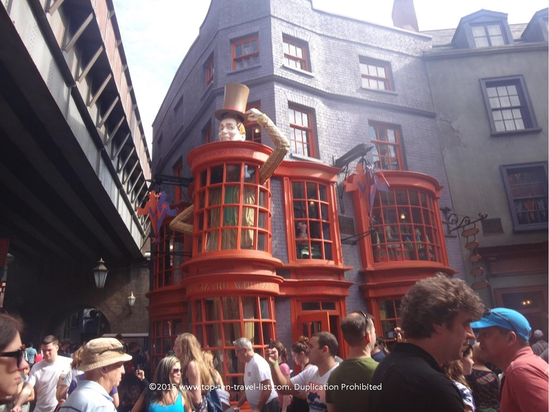Weasley's Wizard Wheezes where you will find all your favorite gag and novelty gifts.