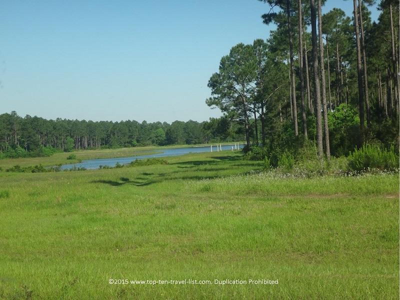 Beautiful scenery on Hwy 98 near Elberta, Alabama