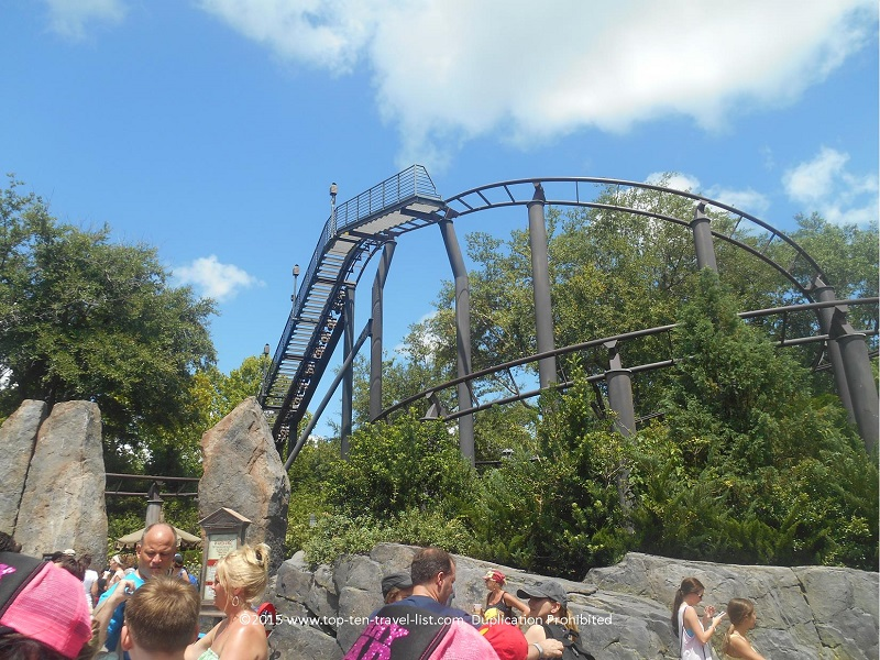Flight of the Hippogriff ride at Islands of Adventure - The Wizarding World of Harry Potter at Universal Orlando