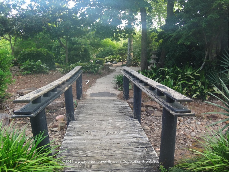 Beaumont Botanical Gardens in Beaumont Texas