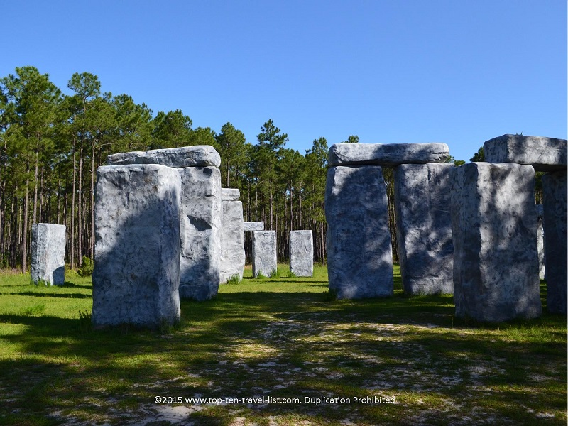 Stonehenge replica in Elberta, Alabama