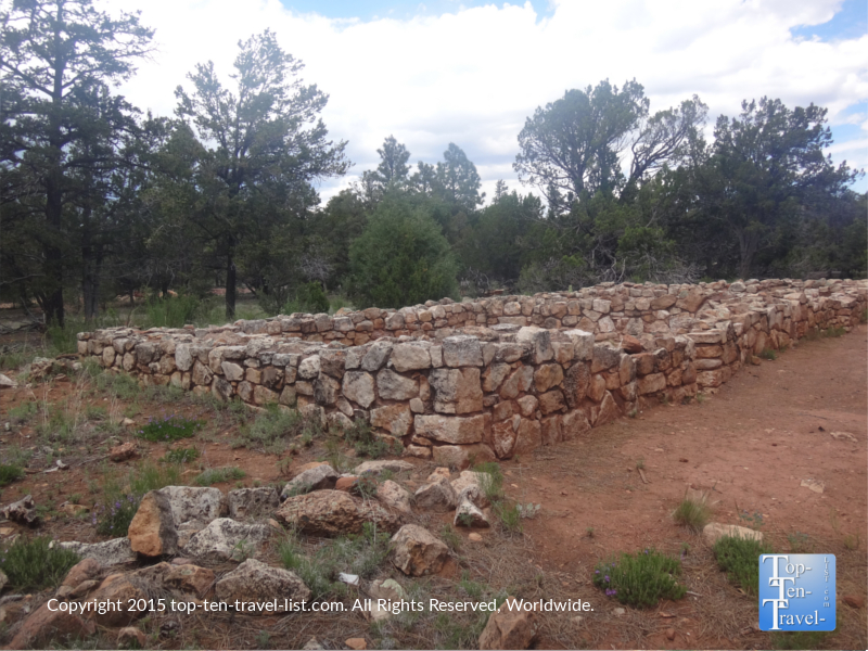 A 2 bedroom pueblo from around AD 1100.