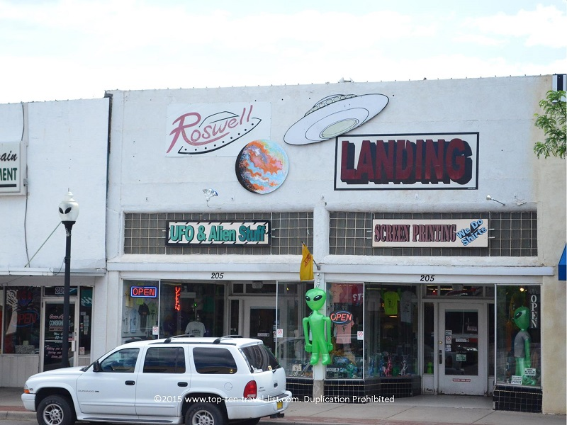 Alien gift shop in Rowell, New Mexico