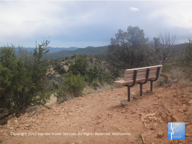 Take a break before making the return journey - thumb Butte Trail #33 in Prescott, Arizona