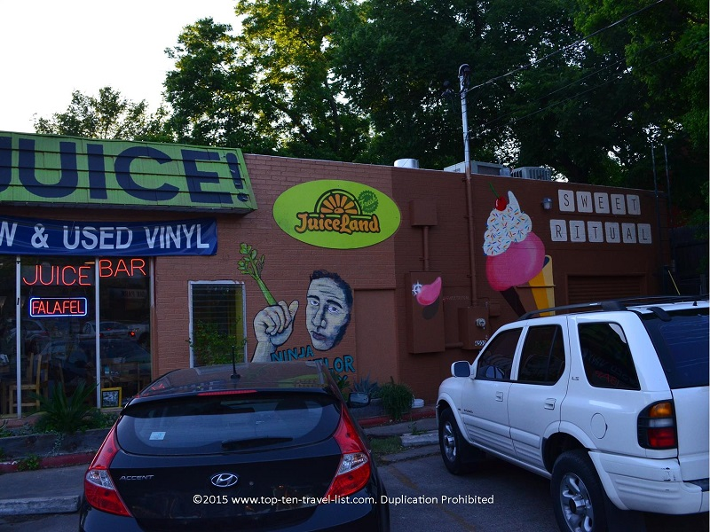 Sweet Ritual dairy free ice cream in Austin, Texas