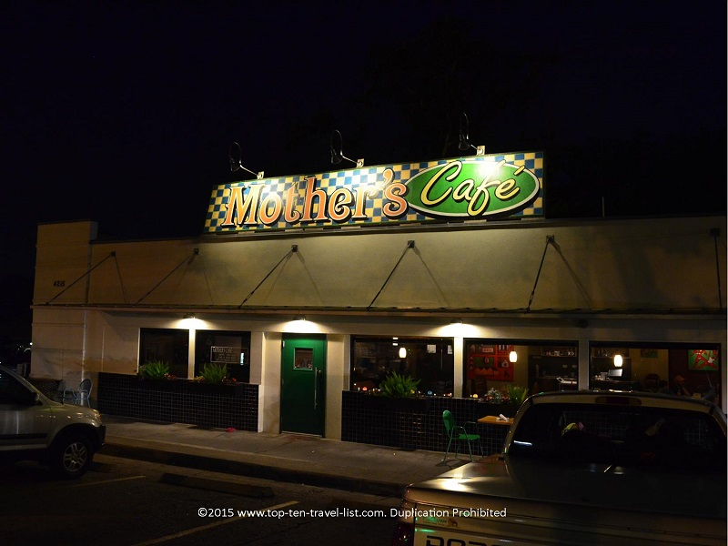 Mother's Cafe in Austin, Texas