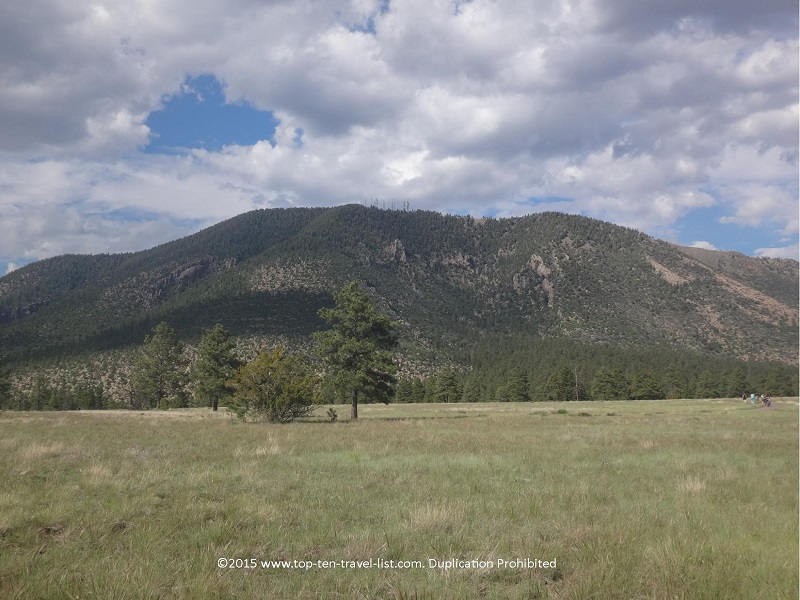 Beautiful mountain views at Flagstaff's Buffalo Park