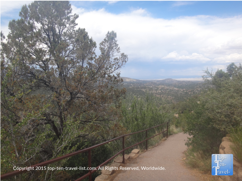 Pretty overlook along the Thumb Butte #33 trail in Prescott, Arizona