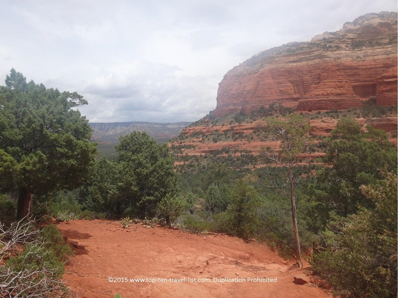 Scenic views along Sedona's Chuckwagon Trail