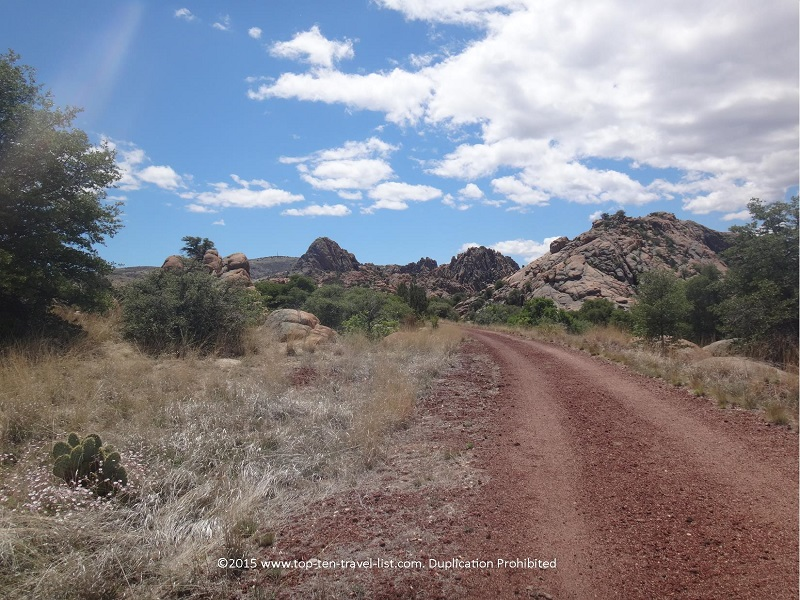 Serene views along the Peavine National Recreational Trail in Prescott, Arizona