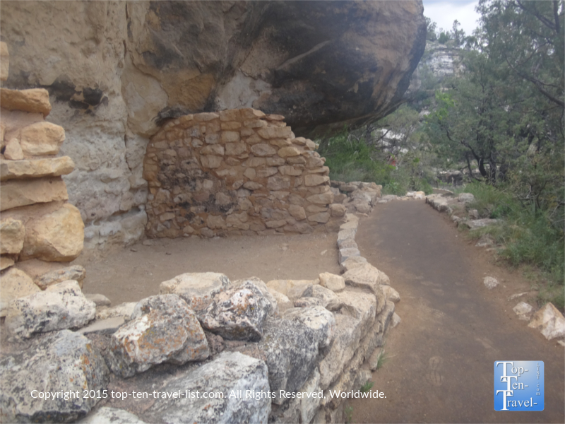 Another cliff dwelling seen from the trail.