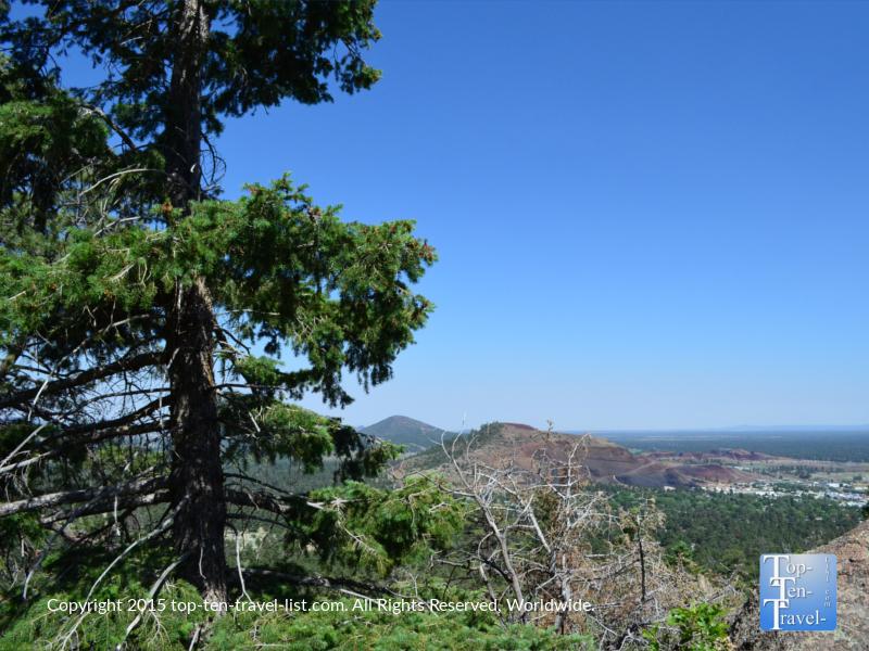 Great views along Fatman's Loop trail in Flagstaff, Arizona