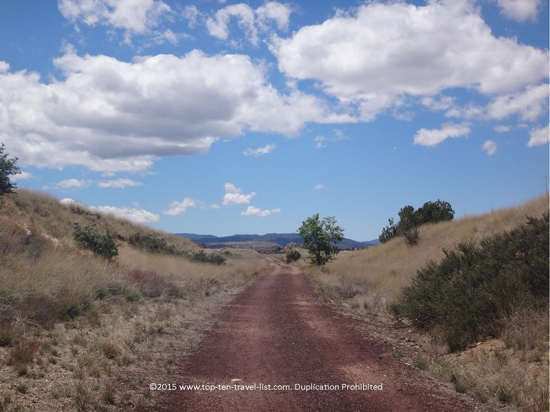 Quiet views along the Peavine National Recreational Trail in Prescott, Arizona