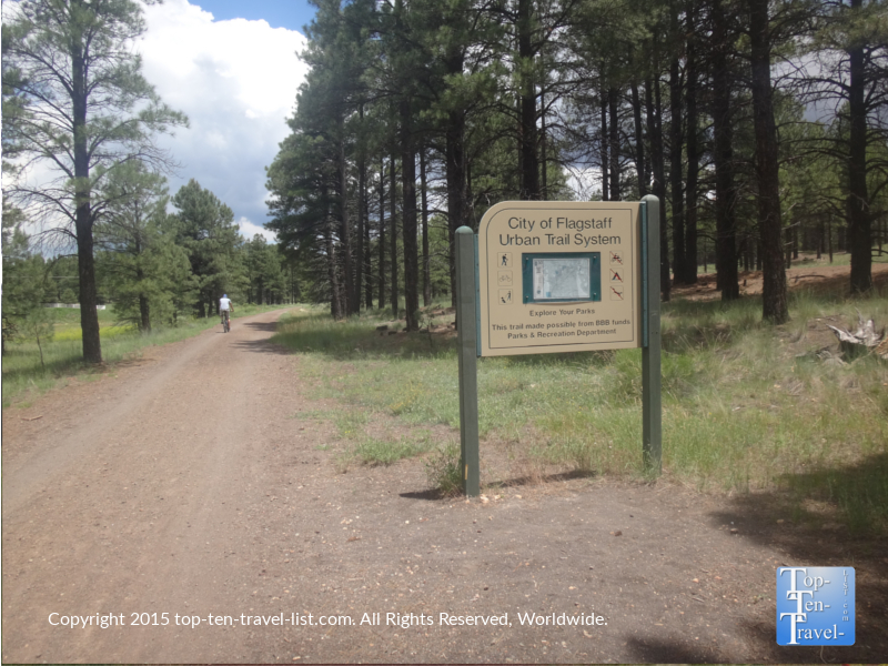 Flagstaff Urban Trail System at Fort Tuthill County Park